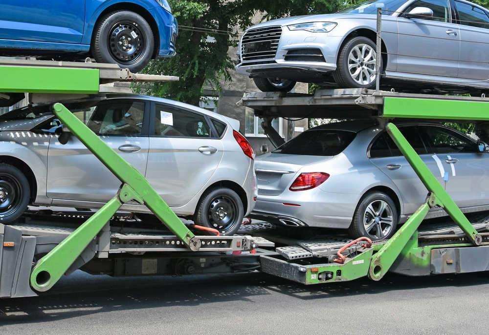 Transporte de coches tradicional